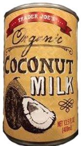 trader joes coconut milk